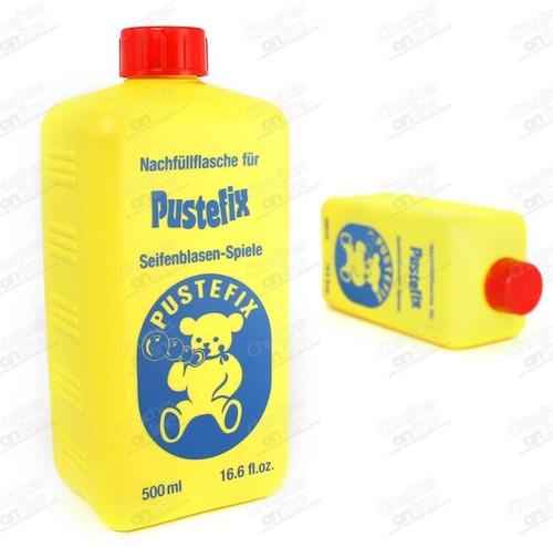 Pustefix Spielzeug für Draußen Seifenblasen Nachfüllflasche Midi 500 ml