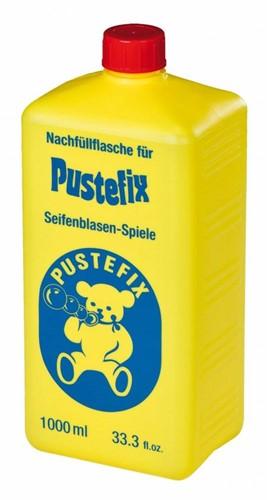 Pustefix Spielzeug für Draußen Seifenblasen Nachfüllflasche Maxi 1000 ml