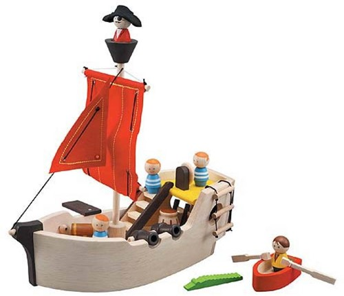Plan Toys Holz Piratenschiff