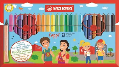 STABILO Cappi Filzstift Mehrfarbig 24, 1