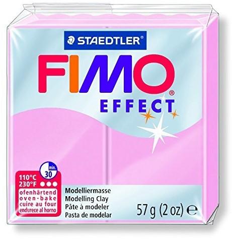 Fimo  effect klei licht rose