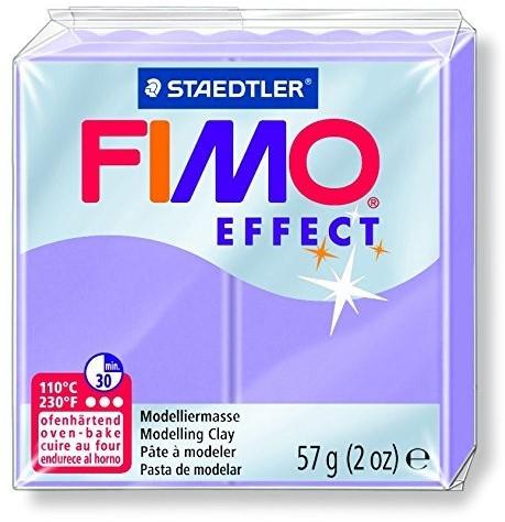 Fimo effect boetseerklei 57g lila