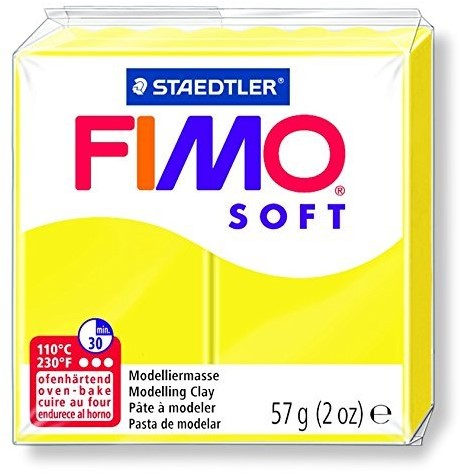 Fimo  soft klei - limoen geel