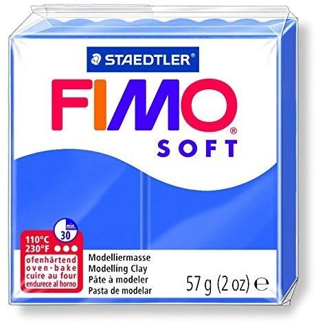 Fimo soft boetseerklei 57g briljantblauw
