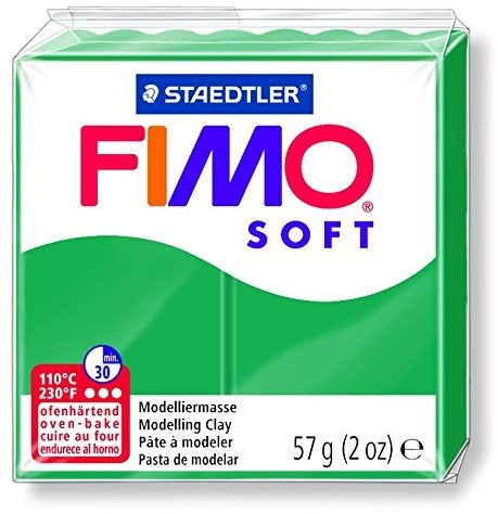 Fimo soft boetseerklei 57g smaragd