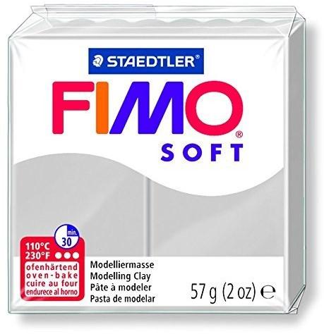 Fimo soft boetseerklei 57g dolfijngrijs