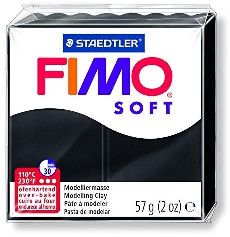Staedtler FIMO 8020 Knetmasse Schwarz 57 g 1 Stück(e)