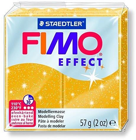 Fimo effect boetseerklei 57g metallic goud