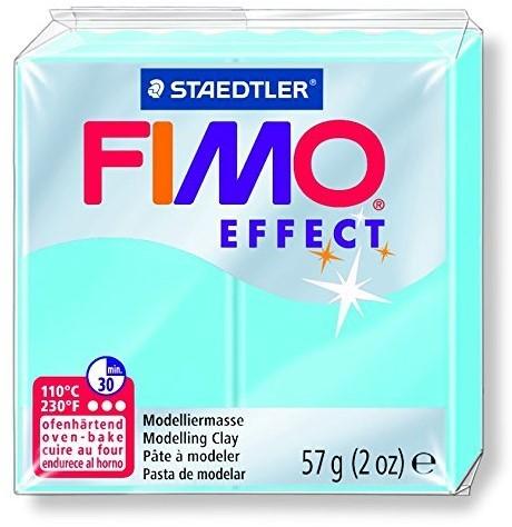 Fimo effect boetseerklei 57g aqua