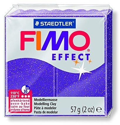 Fimo effect boetseerklei 57g metallic lila