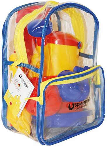 Spielstabil 6-Piece Sand Set classic in Backpack