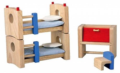PlanToys Children's Room - Neo Puppenhaus-Schlafzimmer