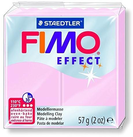Fimo  effect klei rose quartz