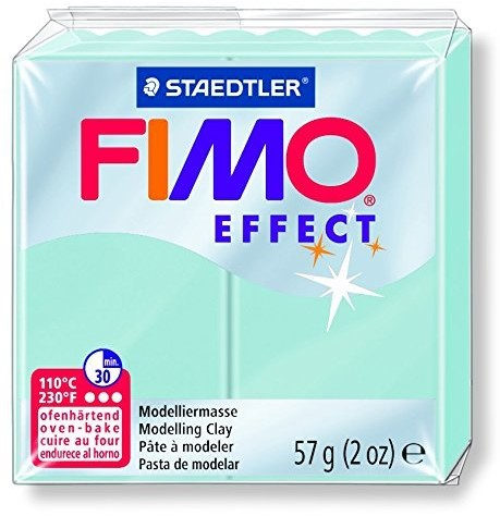 Fimo  effect klei blue ice quartz