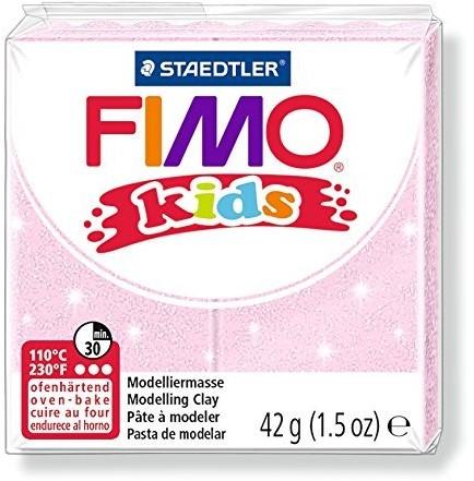 Fimo kids boetseerklei 42g lichtrose