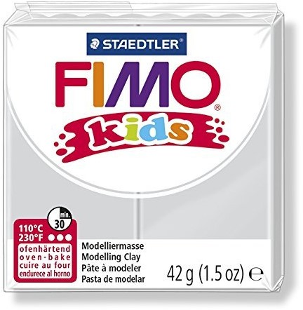 Fimo  kids klei - licht grijs
