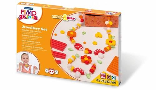 Staedtler FIMO 8033 02 Töpferei-/ Modellier-Material Knetmasse Orange, Rot, Weiß, Gelb 168 g 1 Stück(e)