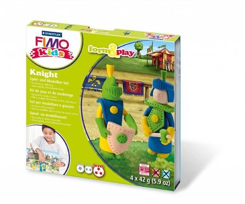Staedtler FIMO kids 8034 Knetmasse Blau, Cremefarben, Grün, Gelb 42 g 1 Stück(e)