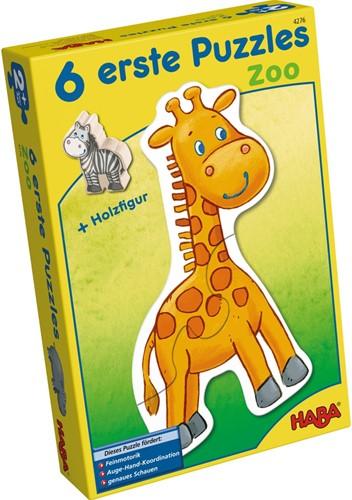 Haba 6 erste Puzzles – Zoo