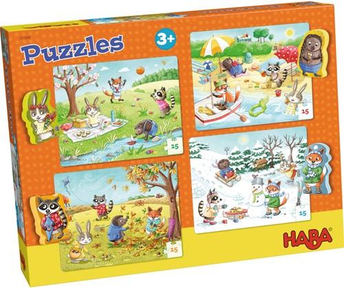 Haba Puzzles Jahreszeiten