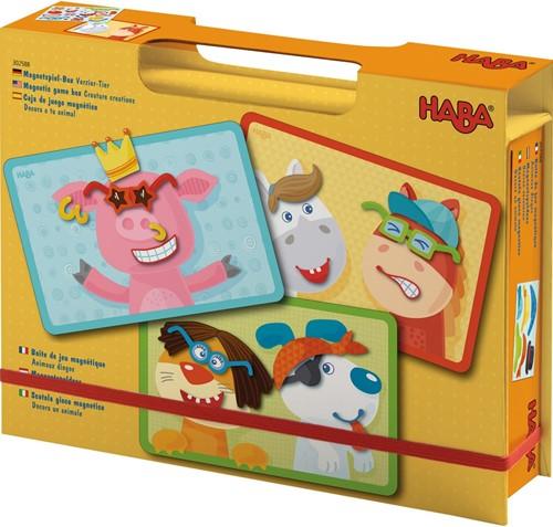 HABA Magnetische Spielbox Dekorieren von Tieren