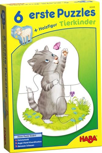 Haba 6 erste Puzzles – Tierkinder