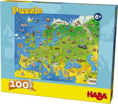 Haba Puzzle Länder Europas