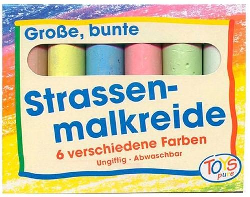 Goki Straßenmalkreide farbig
