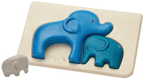 Plan Toys Olifant puzzel