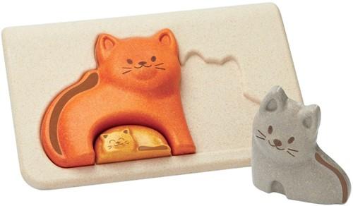 Plan Toys Kat puzzel