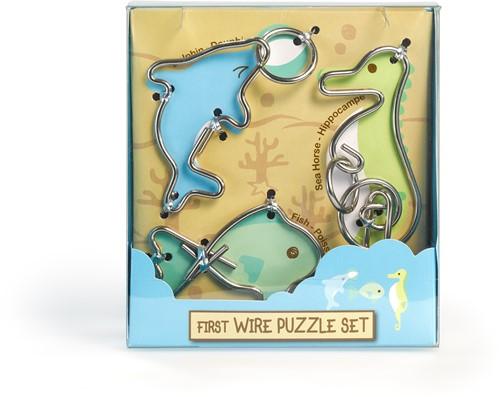 Eureka puzzel First Wire Puzzle Set - Aquatic