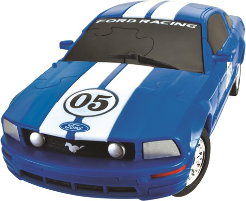 Eureka puzzel Ford Mustang FR500C - 1:32 - Blue***