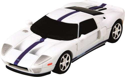 Eureka puzzel Ford GT - 1:43 - white **