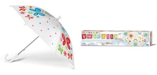 4M 00-04584 Kinder-Regenschirm Weiß
