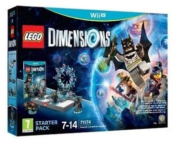 LEGO : Dimensions - Starter Pack Videospiel Wii U Basispaket Mehrsprachig