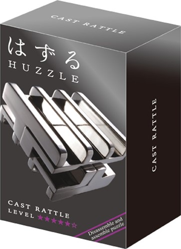 Huzzle puzzel Cast Rattle*****