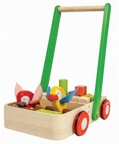 Plan Toys  Holz Laufwagen Bird Walker