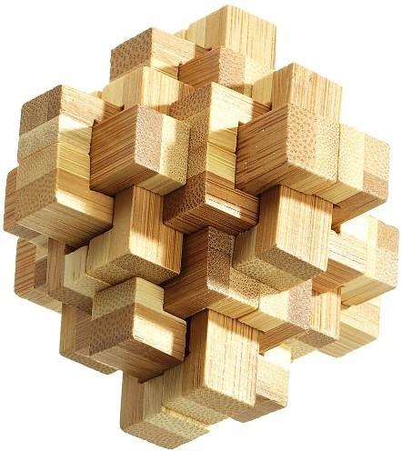 Philos Vervloekte Knoop Puzzel, Bamboe