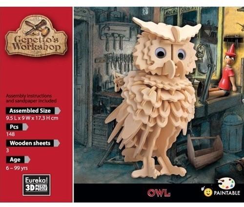 Eureka Gepetto's Workshop - Owl