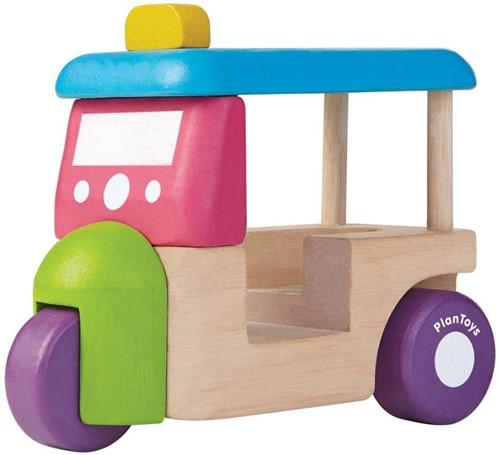 Plan Toys Holz Auto Tuk Tuk