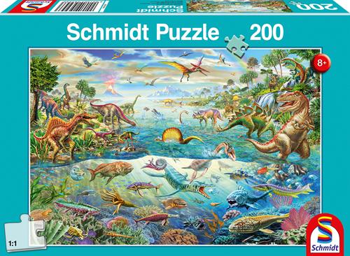 Schmidt Ontdek de Dinosaurussen, 200 stukjes