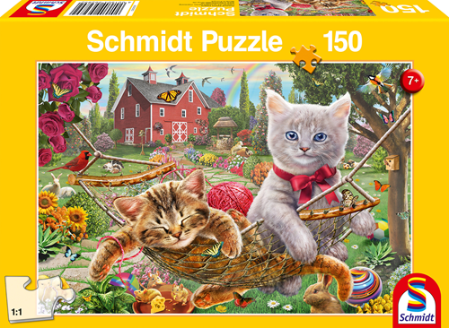 Schmidt Kittens in de tuin, 150 stukjes