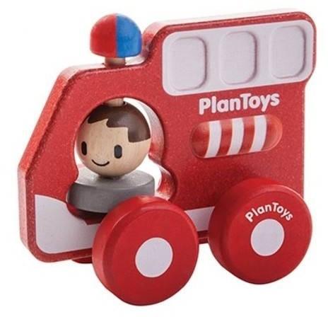 Plan Toys Holz Feuerwehrauto