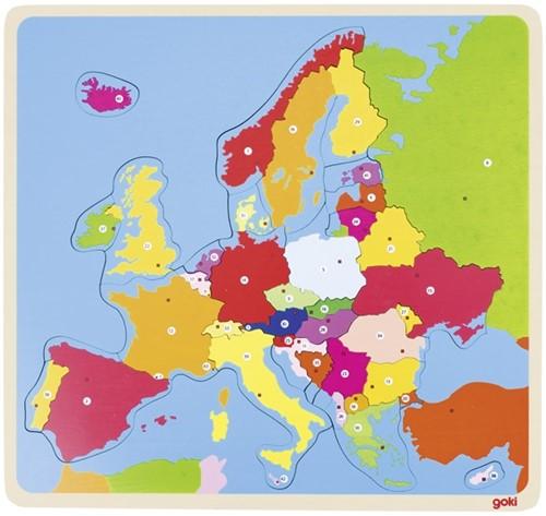 Goki Puzzle Europa