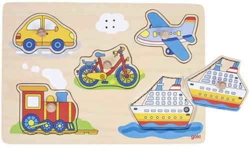 Goki 57519 Puzzle Formpuzzle 5 Stück(e)