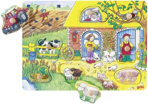 Goki 57805 Formpuzzle 9 Stück(e)