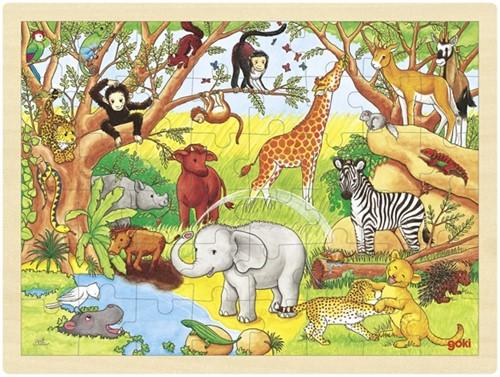 Goki 57892 Puzzle Puzzlespiel 48 Stück(e)