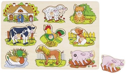Goki 57895 Puzzle Formpuzzle 8 Stück(e)