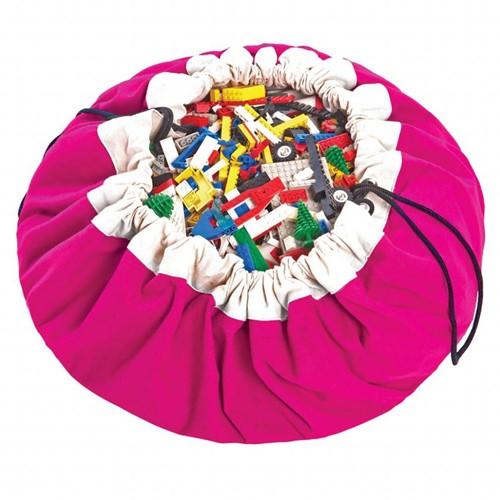 Play&Go 47.0004 Spielzeugaufbewahrung Toy storage bag Pink Freistehend