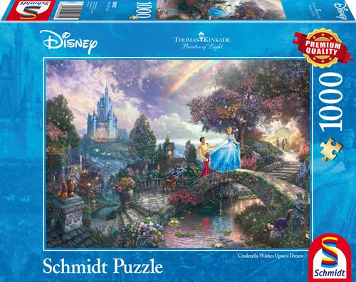 Schmidt Disney Cinderella, 1000 stukjes
